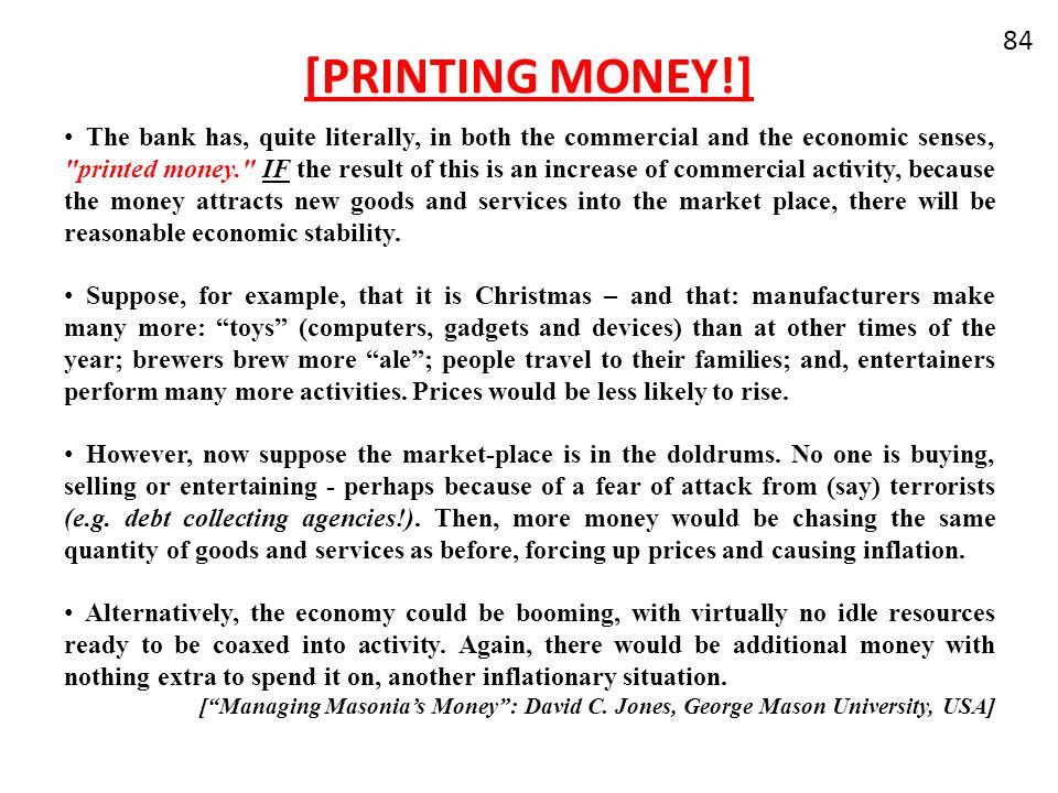[PRINTING MONEY!]